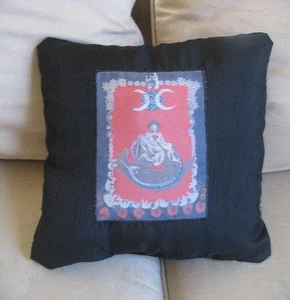 Strength, from the Tarot, A Pillow