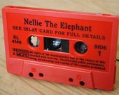 Belt Buckle made from a cassette tape - Nellie The Elephant
