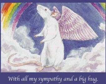 White Rattie Angel