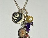 """Charm Necklace Number  21  16"""""""