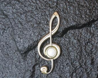 Bronze G-Clef Doorbell