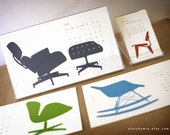 last one - 2011 Calendar - the chairs