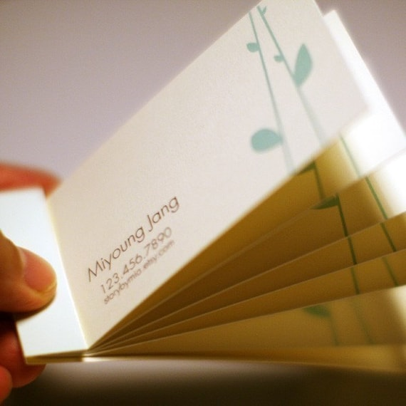 calling cards-matchbook style-with any design from storybymia