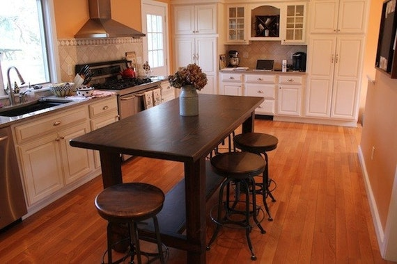 farm table kitchen island farm table style custom kitchen island by lorimerworkshop 17520