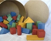 50 piece painted block set