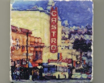 Castro Theater Original Coaster
