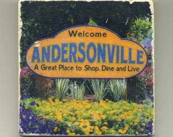 Andersonville in Chicago - Original Coaster