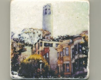 Coit Tower Original Coaster