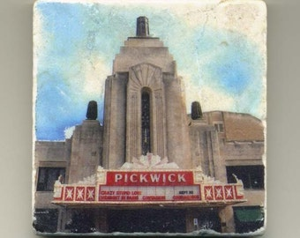 Pickwick Theater- 1 -  Original Coaster