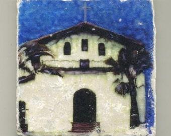 Mission Dolores in San Francisco - Original Coaster