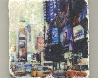 Times Square in New York - Original Coaster