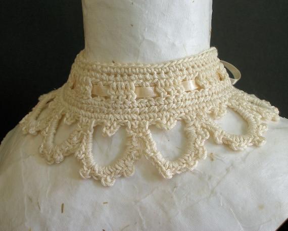 PDF Crochet Pattern - Victoriana Choker