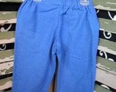 CLEARANCE blue flannel pants size 2/3