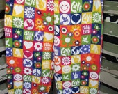 CLEARANCE peace & love flannel pants size 4/5
