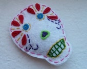 SALE Day of the Dead Cat Toy