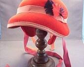Old Red Felt Hat