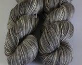 50/50 merino/silk lace yarn in smoke and mirrors