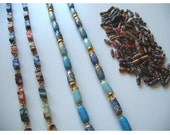 Vintage Necklaces And Paper Beads Lot