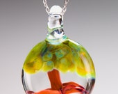 Glass Bonsai Tree Pendant