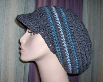 Elastic Band Cozy Big One in Charcoal and Blue for Men Women