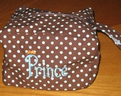 Tots to Go Tote Perfectly Portable Diaper Changing Many great uses - tons of fabric choices Personalized Free 3 sizes available Travel case