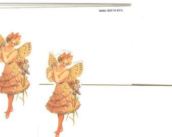 Vintage Victorian Fairy Die Cut Placecards