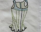 embroidery corset stays c.1775