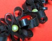 Black Curls Neckpiece