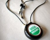 USDA Organic Bottle Cap Neckpiece