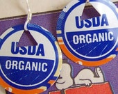 CERTIFIED ORGANIC TRASHION SODA POP EARRINGS
