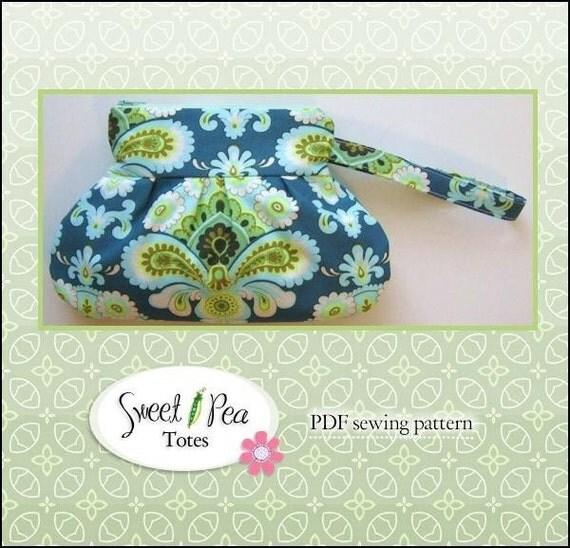 Zip & Go  WRISTLET ebook PDF Sewing Pattern / Sweet Pea Totes