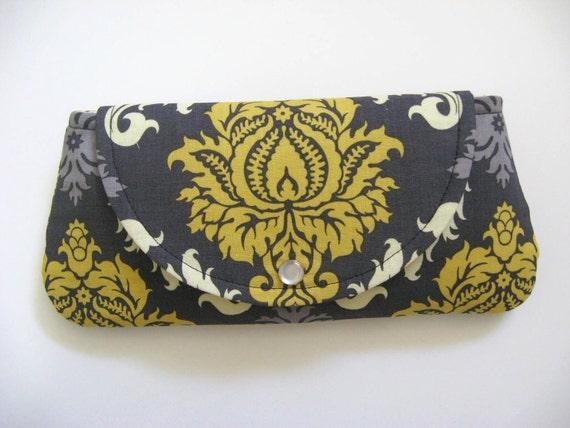 Clutch - Wallet - Snap Closure / Joel Dewberry Fabric