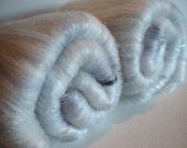 Silver Lining fiber batts 3.65ozs merino tencel silk sparkles