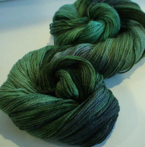 Hebridean Colours hand dyed  fine merino yarn scarf shawl socks hat 3.3ozs 352yds approx  Castlebay