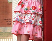 gracie ruffle skirt pattern by marie-madeline studio (M069)