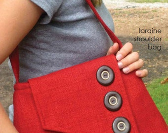 laraine shoulder bag pattern by marie-madeline studio (M064)