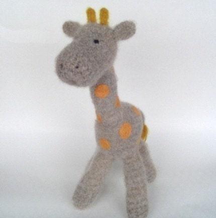 Amigurumi Crochet Pattern Giraffe Free Crochet Patterns
