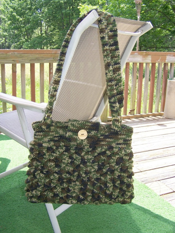 Crochet Purse Crocodile Tears Clearance