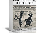 Etsy Tax Guide - Etsy Instructional - How to - The Bundle