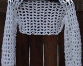 Women's Crochet Bolero Shrug