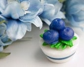 Blueberry-Licious Lolli Soap Tart ... adorable party, wedding and shower favors.