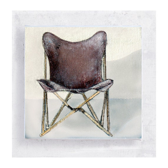Items similar to Chair Art The Original Folding Chair Tripolina Chair Port