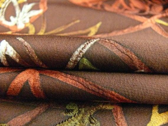 Absolutely Stunning Kimono Silk Fabric by the Yard