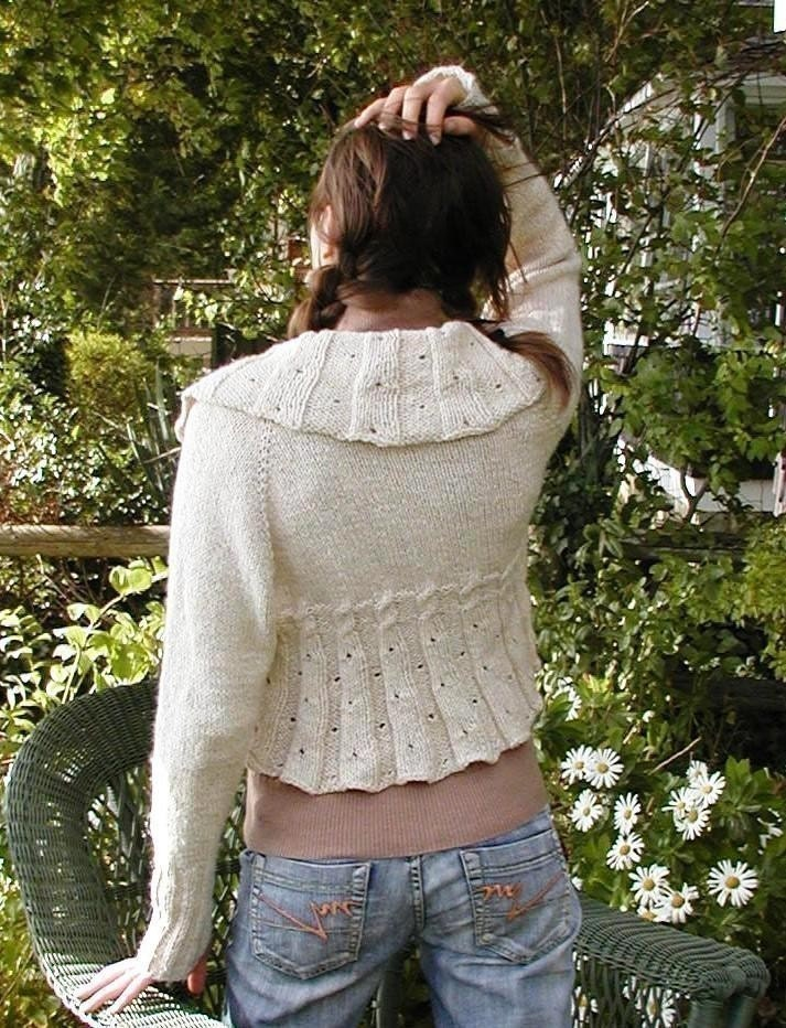 Top Down Sweater Knitting Pattern - Patterns Gallery