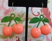 Miss Priss Cherry Earrings