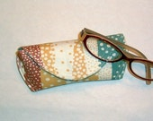 Eyeglass Case or Sunglass Case - Pebbled Paths