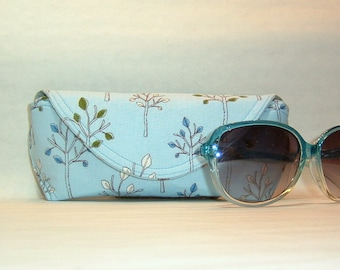 Eyeglass Case or Sunglass Case Large - Delicate Forest