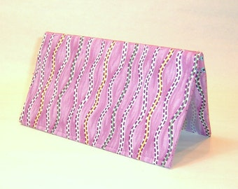 Checkbook Cover - Stay in Your Lane Purple