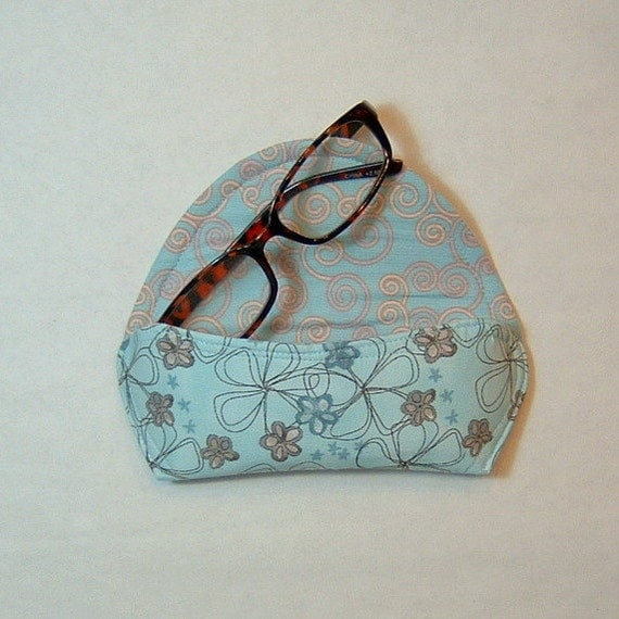 Eyeglass Case or Sunglass Case - Simply Flowers