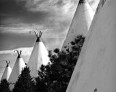Wigwams in a Row - 5x7 Route 66 Fine Art, Limited Edition Photograph